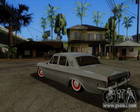 GAZ 2401 for GTA San Andreas back left view