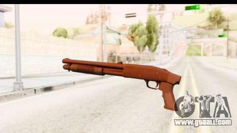 Tactical Mossberg 590A1 Black v1 for GTA San Andreas second screenshot