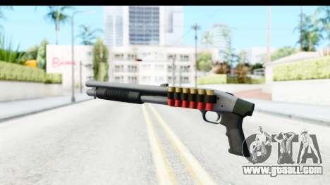 Tactical Mossberg 590A1 Chrome v3 for GTA San Andreas third screenshot