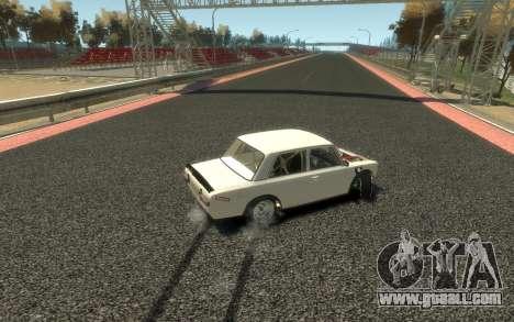 VAZ 2101 Combat Classic (Paul Black prod.) for GTA 4 back view