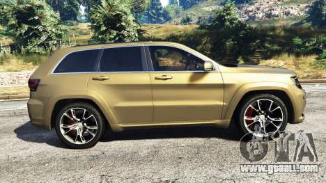 GTA 5 Jeep Grand Cherokee SRT-8 2014 [replace] left side view
