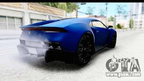 GTA 5 Pegassi Reaper SA Style for GTA San Andreas left view