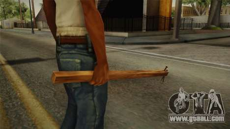 Silent Hill 2 - Weapon 3 for GTA San Andreas third screenshot