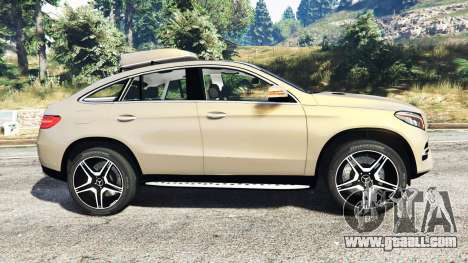 GTA 5 Mercedes-Benz GLE 450 AMG 4MATIC (C292) [add-on] left side view