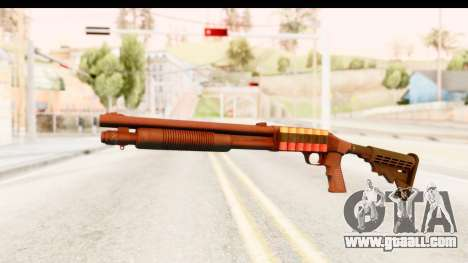 Tactical Mossberg 590A1 Black v2 for GTA San Andreas