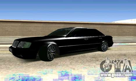 Mercedes-Benz E500 W124 for GTA San Andreas back view