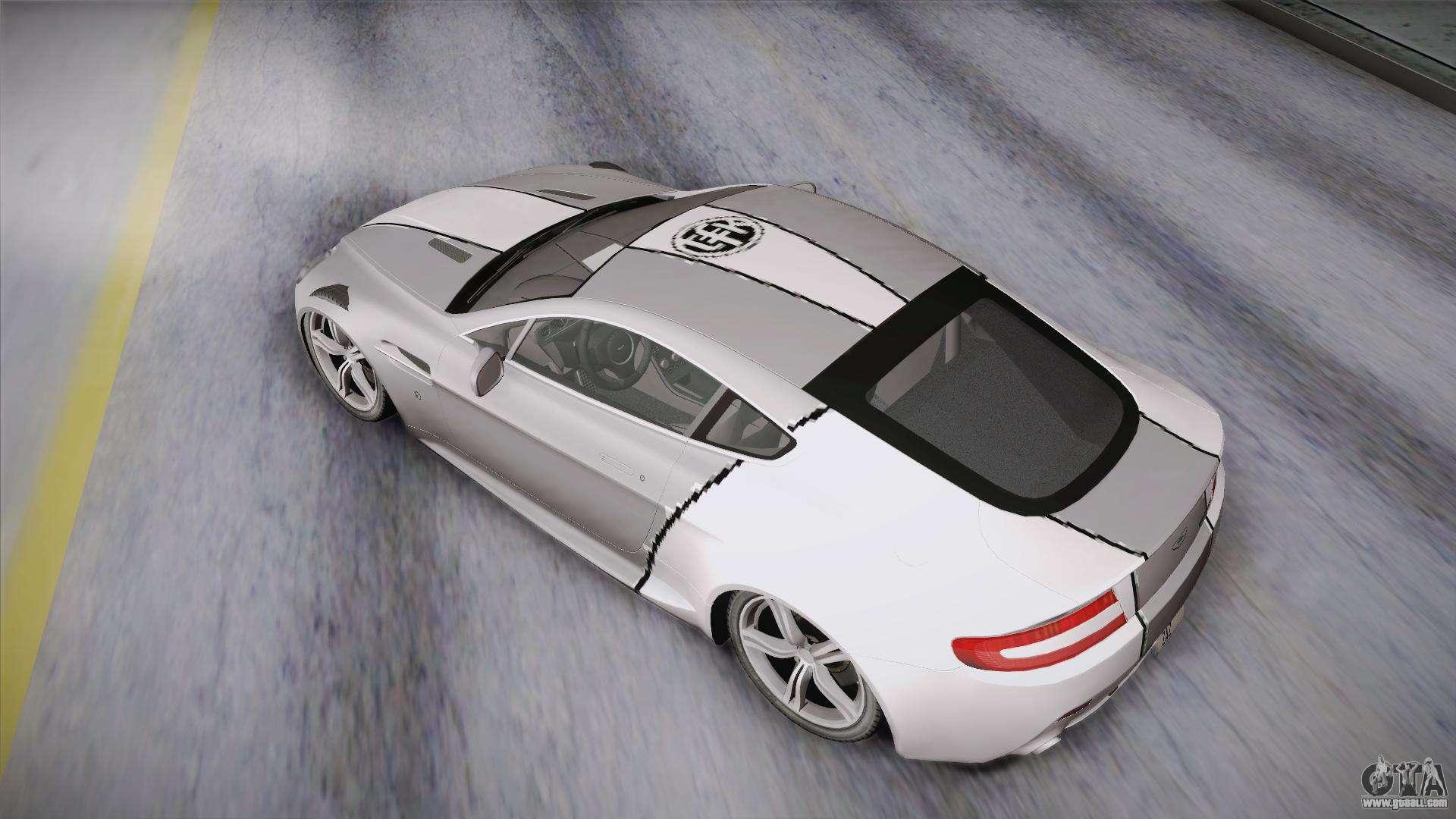 NFS: Carbon TFKs Aston Martin Vantage for GTA San Andreas