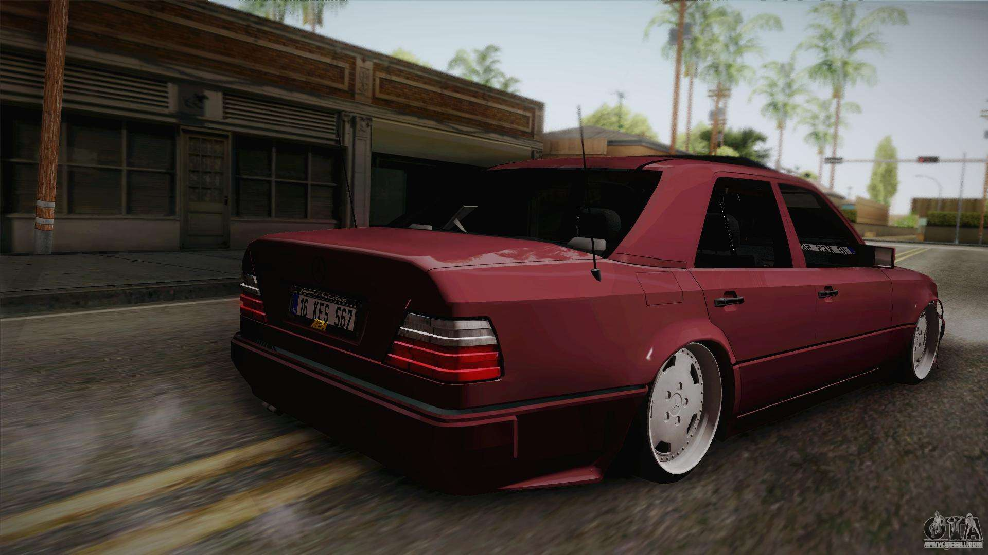 Mercedes benz e500 german style for gta san andreas for Mercedes benz styles