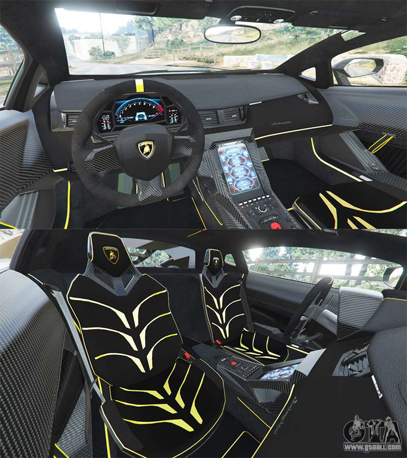 lamborghini centenario lp770 4 2017 replace for gta 5. Black Bedroom Furniture Sets. Home Design Ideas