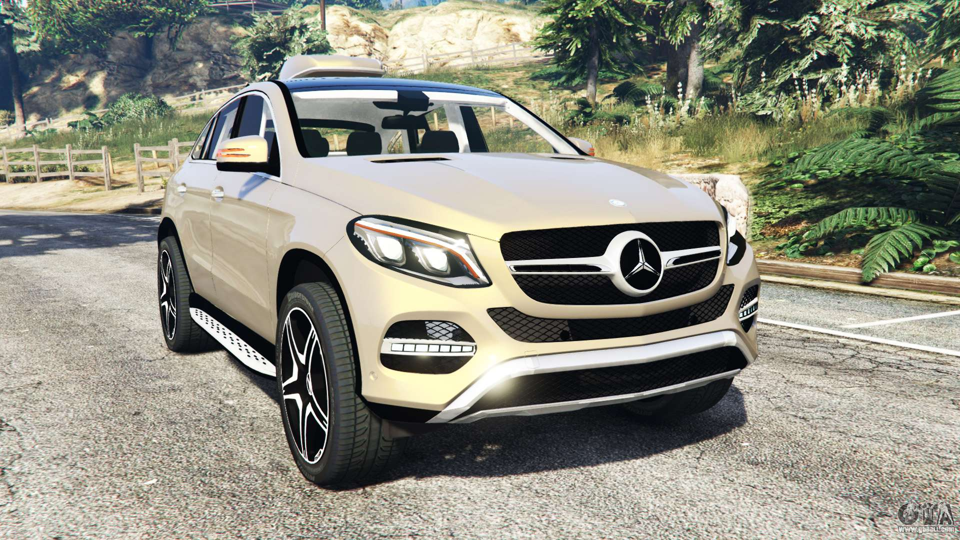 mercedes benz gle 450 amg 4matic c292 add on for gta 5