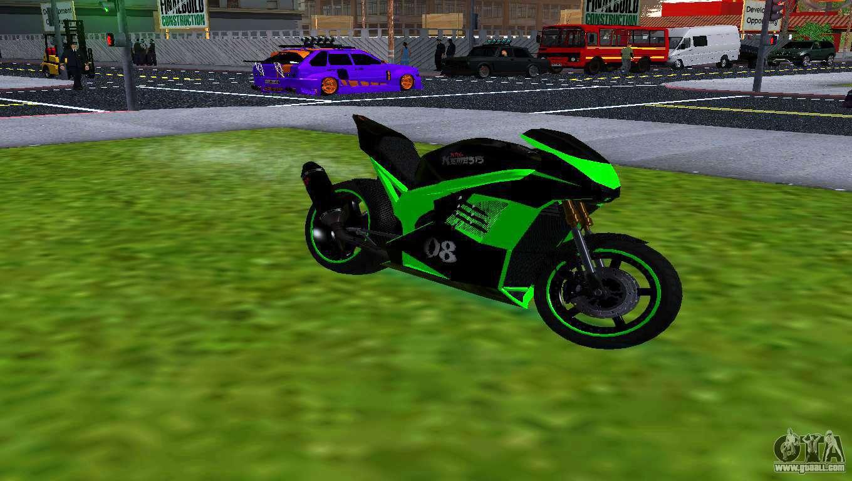 Nrg motorcycle mods - GTA San Andreas