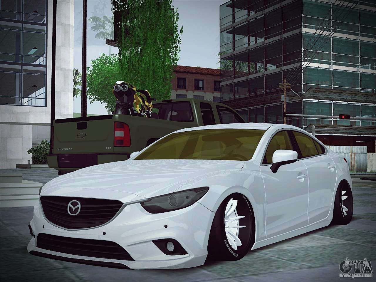 Mazda 6 Stance For Gta San Andreas