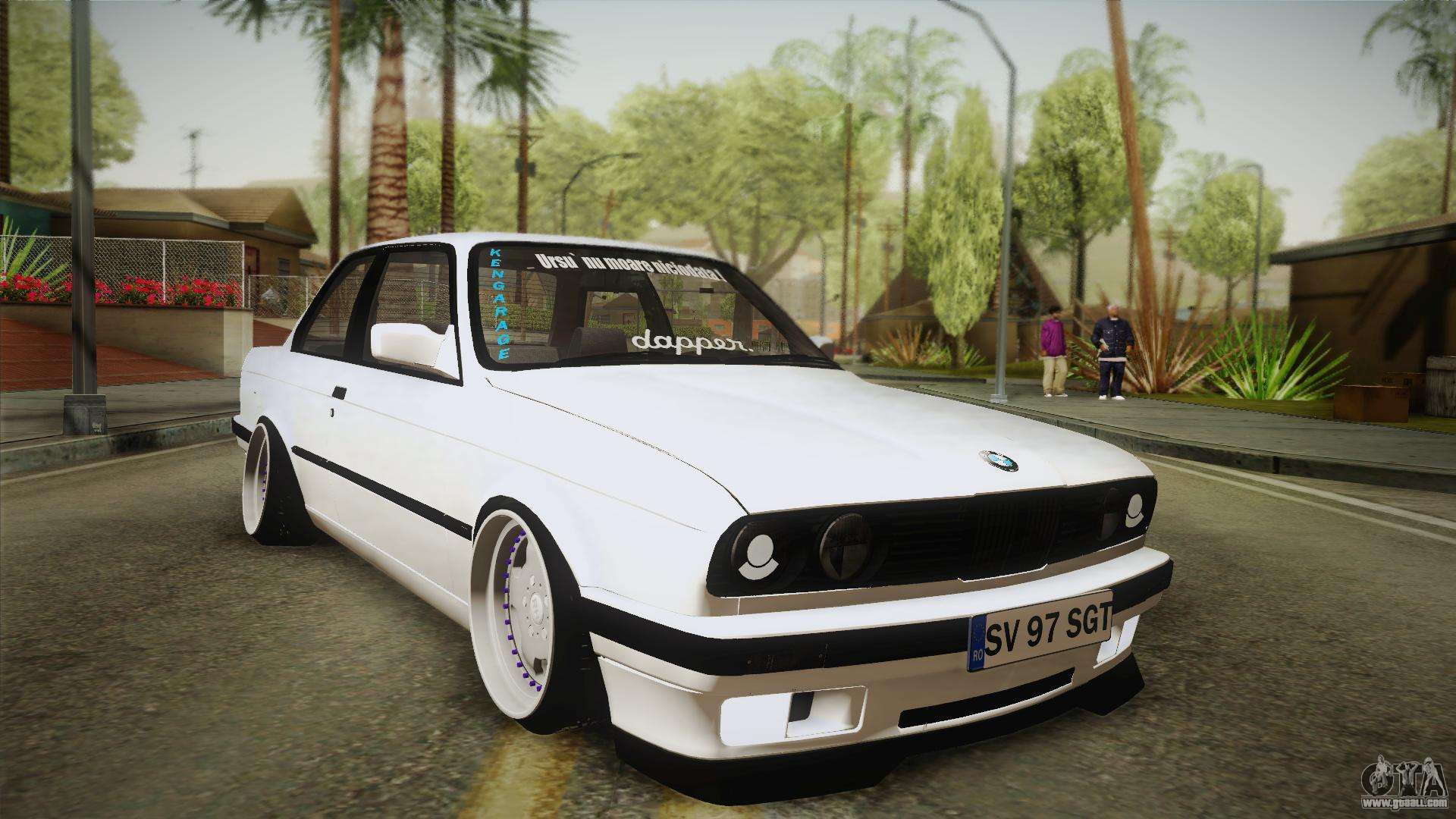 Bmw M3 E30 >> BMW M3 E30 Stance for GTA San Andreas