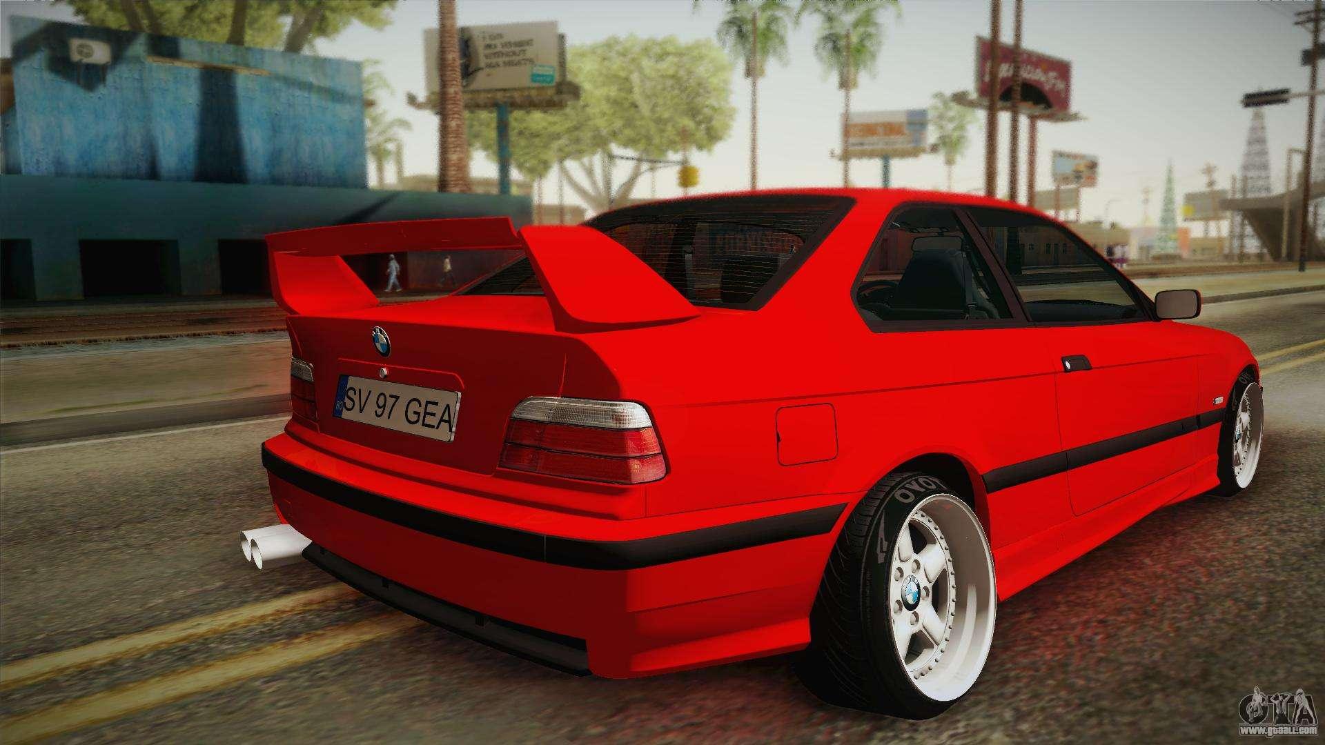 Gta 5 Custom Cars >> BMW M3 E36 Stance for GTA San Andreas