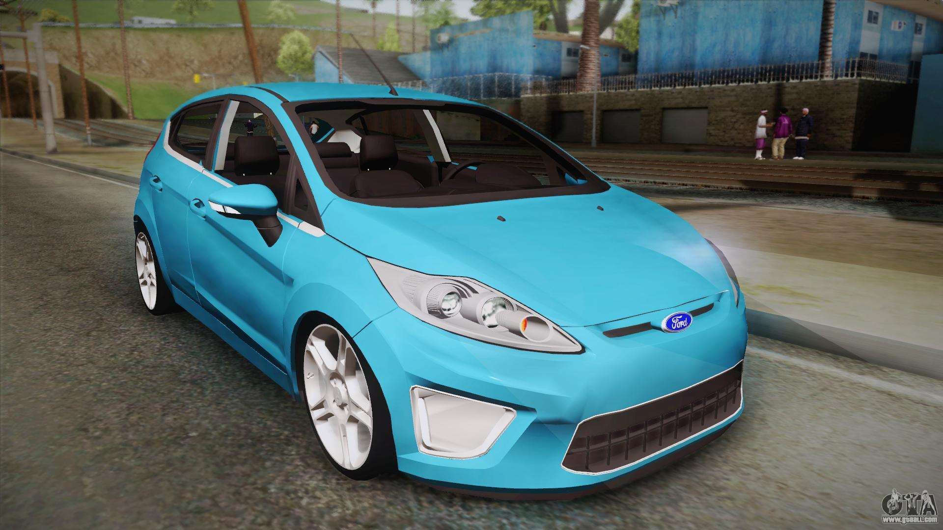 ford fiesta kinetic design for gta san andreas. Black Bedroom Furniture Sets. Home Design Ideas