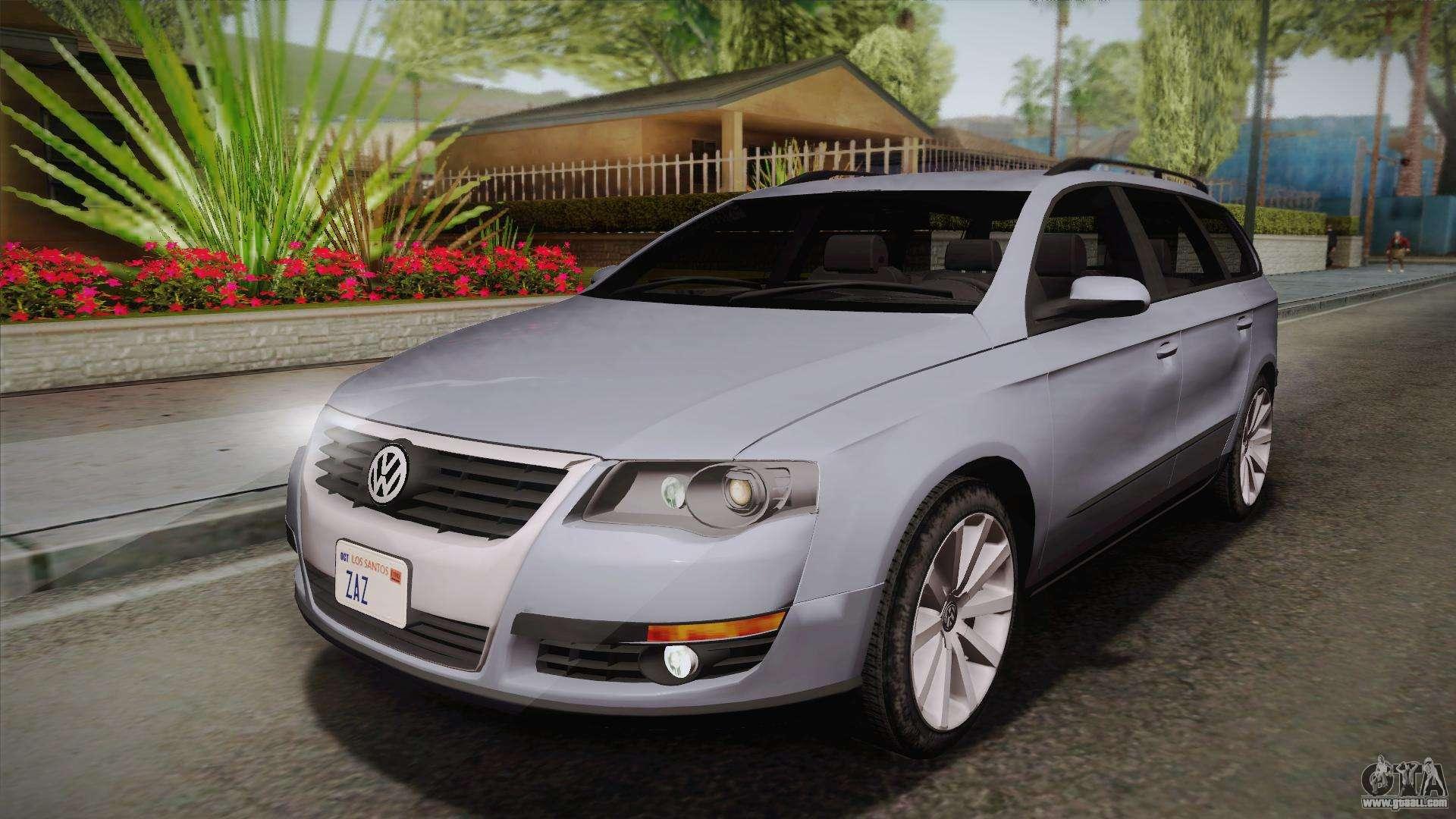 volkswagen passat b6 variant for gta san andreas. Black Bedroom Furniture Sets. Home Design Ideas