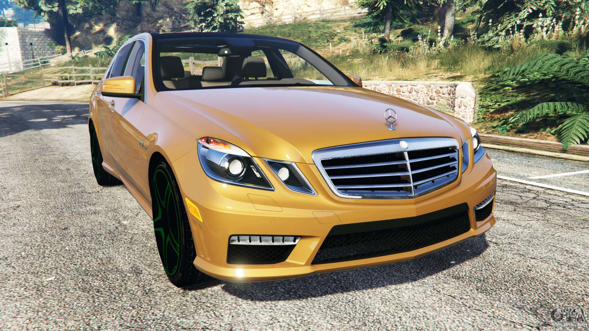 Mercedes benz e63 w212 amg 2010 add on for gta 5 for Mercedes benz add