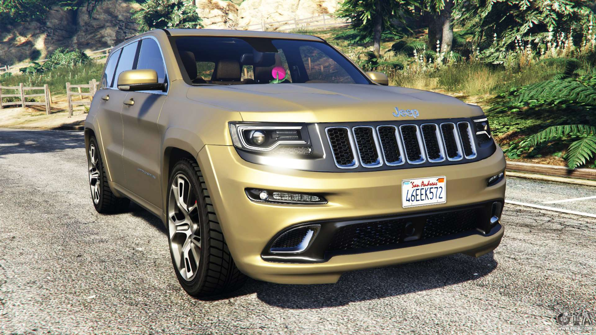 jeep grand cherokee srt 8 2014 replace for gta 5. Black Bedroom Furniture Sets. Home Design Ideas