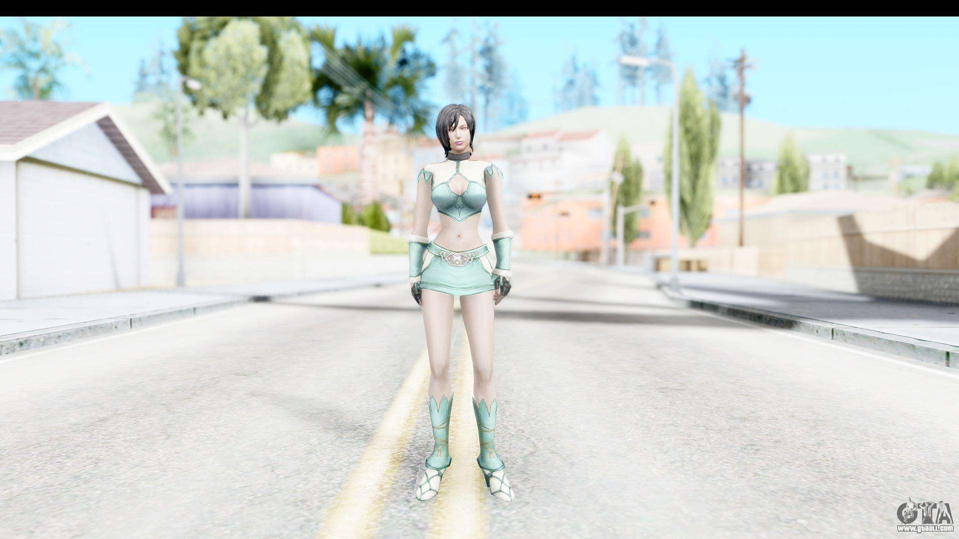 Ada Wong II for GTA San Andreas