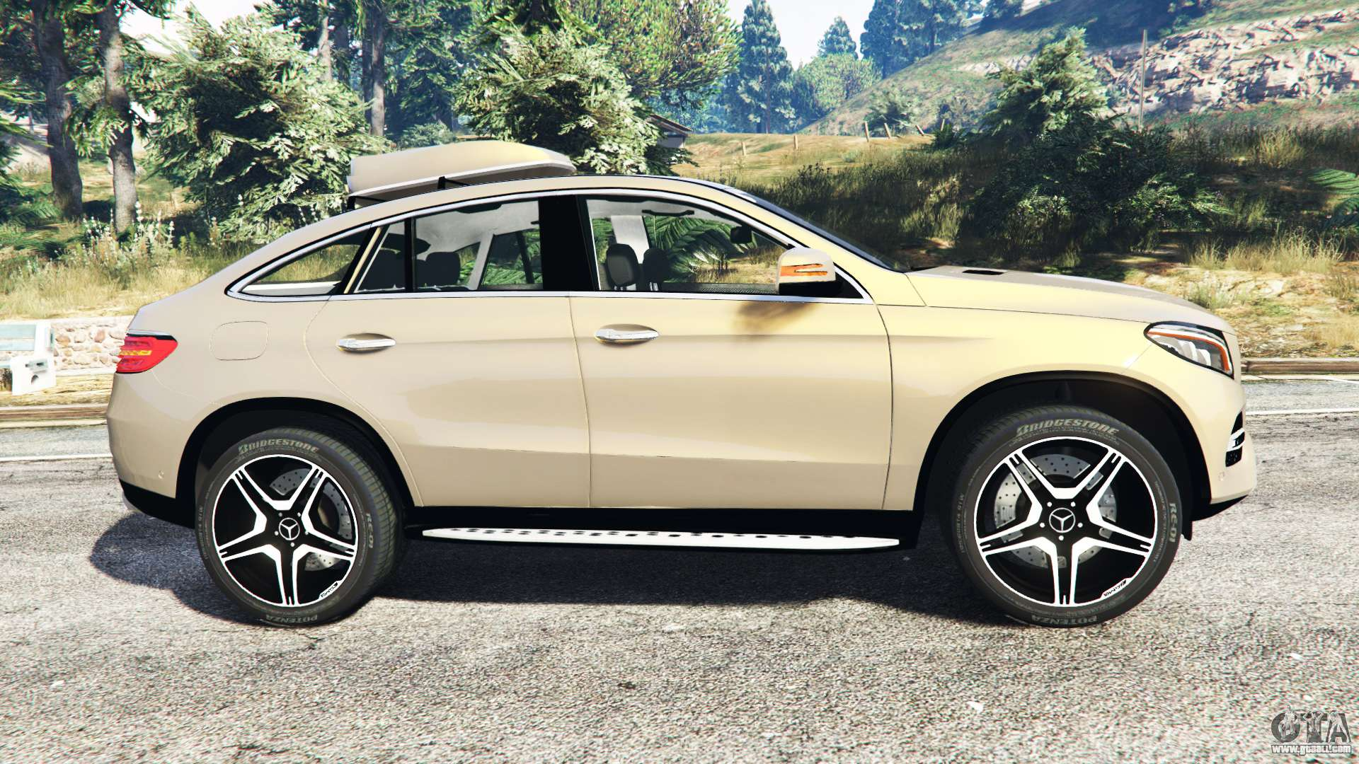 mercedes benz gle 450 amg 4matic c292 add on for gta 5. Black Bedroom Furniture Sets. Home Design Ideas