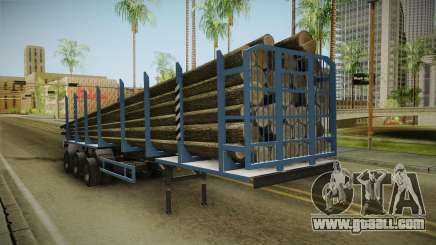 MAZ 99864 Trailer v1 for GTA San Andreas