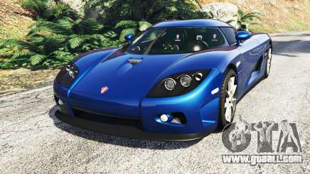 Koenigsegg CCX 2006 [Autovista] v2.0 [replace] for GTA 5