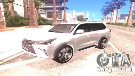 Lexus LX570 for GTA San Andreas