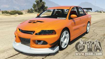 Maibatsu Revolution SG-RX (Tuners and Outlaws) for GTA 5