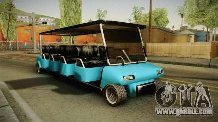 Caddy Limo for GTA San Andreas