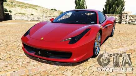 Ferrari 458 Italia v2.0 [add-on] for GTA 5