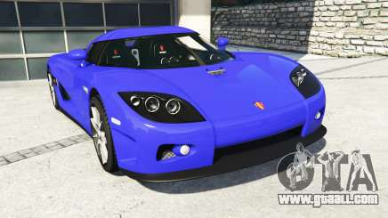 Koenigsegg CCX 2006 [Autovista] v2.0 [add-on] for GTA 5