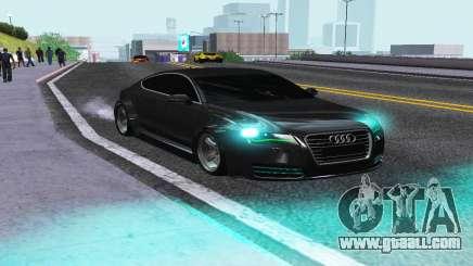 AUDI A7 SPORTSBACK for GTA San Andreas