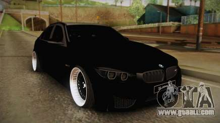 BMW M3 F30 for GTA San Andreas
