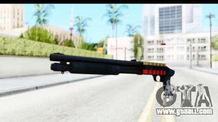 Tactical Mossberg 590A1 Black v3 for GTA San Andreas