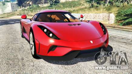 Koenigsegg Regera 2016 v1.1a [add-on] for GTA 5