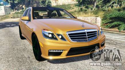 Mercedes-Benz E63 (W212) AMG 2010 [add-on] for GTA 5