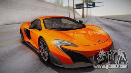 McLaren 675LT 2015 10-Spoke Wheels for GTA San Andreas