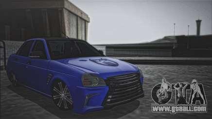 Lada Priora Lexus Amg for GTA San Andreas