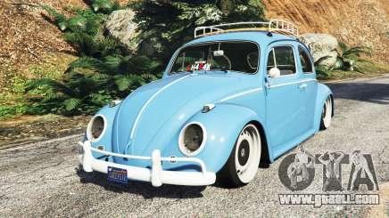 Volkswagen Fusca 1968 v0.9 [replace] for GTA 5