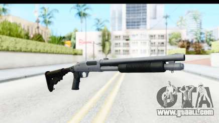 Tactical Mossberg 590A1 Chrome v4 for GTA San Andreas
