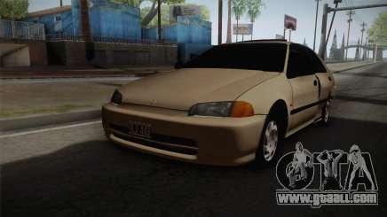 Honda Civic Sedan EX 1993 for GTA San Andreas