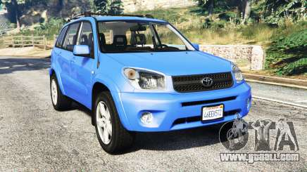 Toyota RAV4 (XA20) [replace] for GTA 5