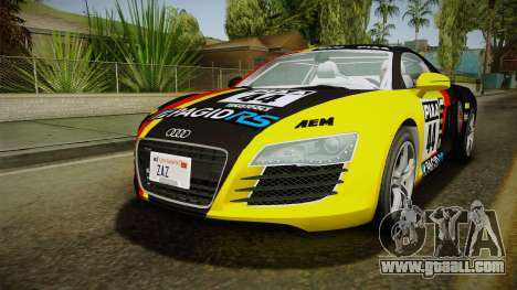 Audi R8 Coupe 4.2 FSI quattro EU-Spec 2008 YCH2 for GTA San Andreas
