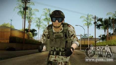 Resident Evil ORC Spec Ops v6 for GTA San Andreas