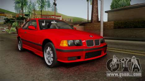 BMW 328i E36 Coupe for GTA San Andreas