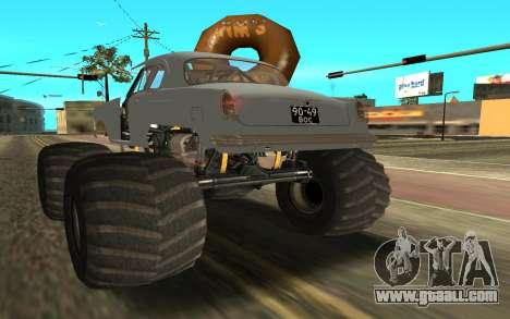 Volga GAZ21 for GTA San Andreas