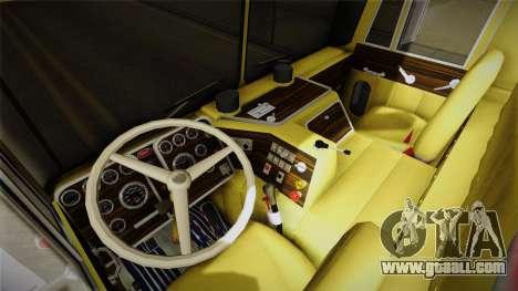 Peterbilt Monster Truck for GTA San Andreas back view