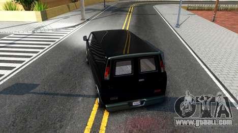 GTA V Declasse Burrito for GTA San Andreas right view
