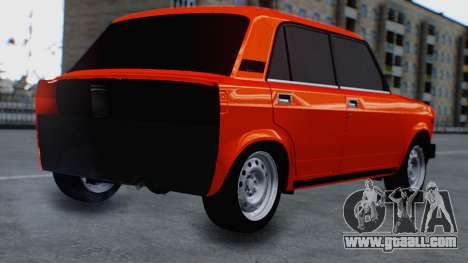 VAZ 2105 patch 3.0 for GTA San Andreas left view