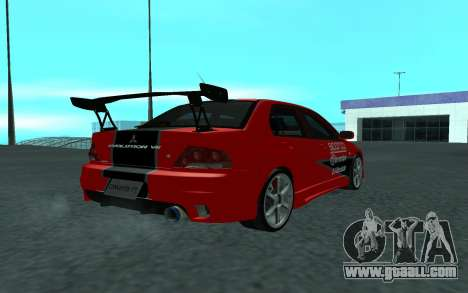 Mitsubishi Lancer Evolution VII for GTA San Andreas